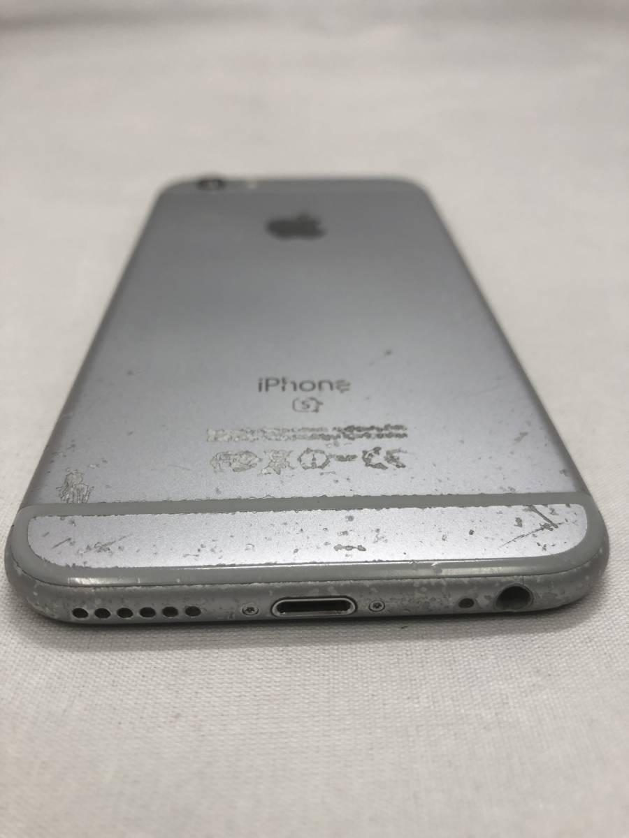 ソフトバンク iPhone6S 128GB スペースグレー 利用制限〇_画像6