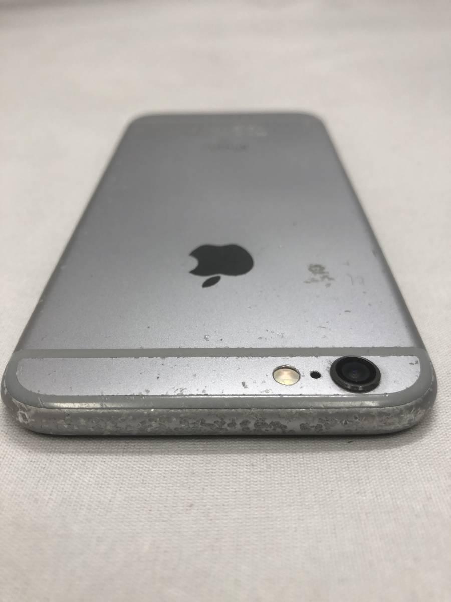 ソフトバンク iPhone6S 128GB スペースグレー 利用制限〇_画像7