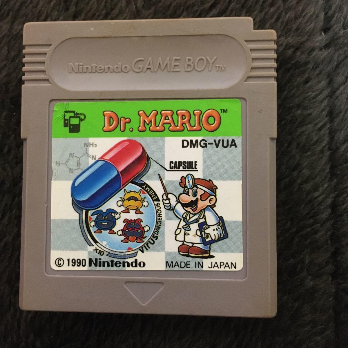 ゲームボーイ ソフト ドクターマリオ ゲームボーイ Dr.MARIO