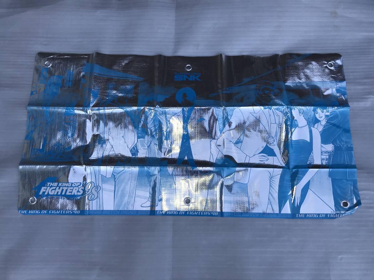(レア)販促用・非売品ポスター SNK ザ キング オブ ファイターズ98 キャラクター垂幕2枚セット 未使用品・画鋲穴ナシ・長期保存品_画像5