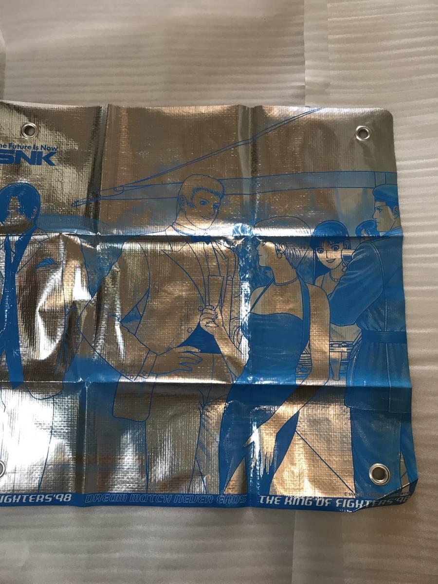 (レア)販促用・非売品ポスター SNK ザ キング オブ ファイターズ98 キャラクター垂幕2枚セット 未使用品・画鋲穴ナシ・長期保存品_画像8