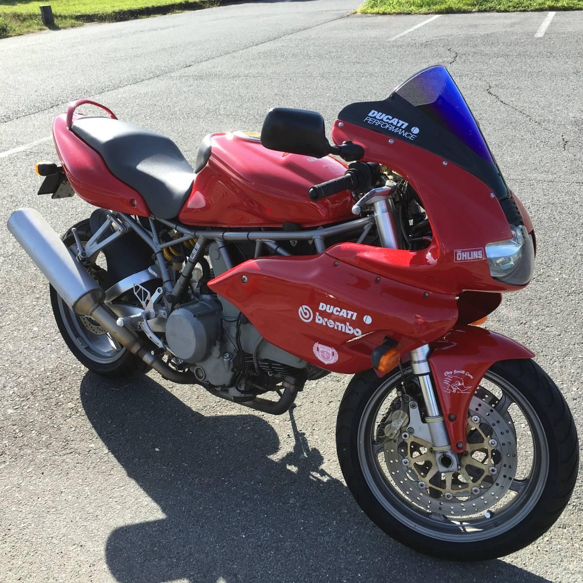 「ドゥカティSS800ieスーパースポーツ!希少美品バイクLツインエンジン車 熊本より」の画像1