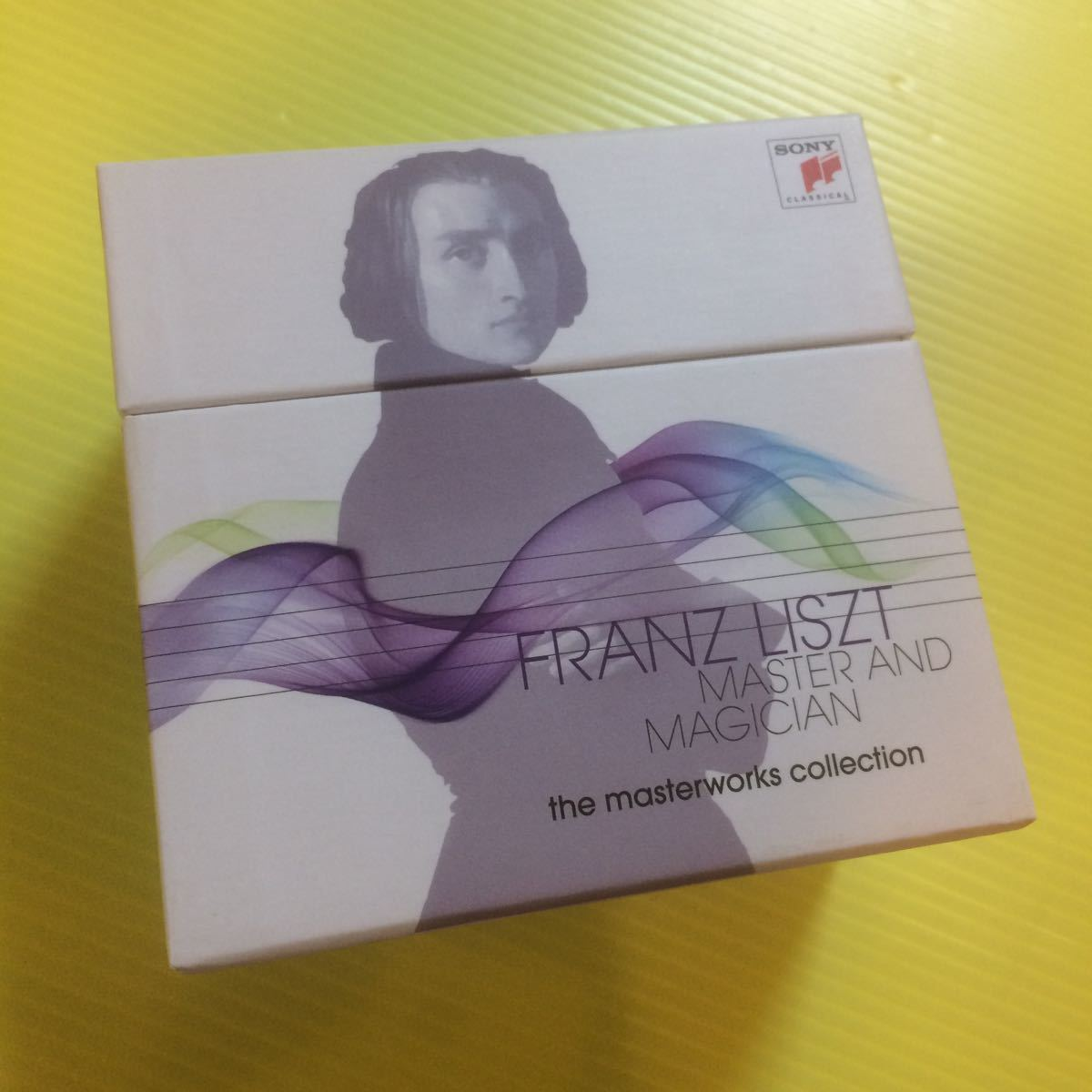 ◆ Franz Liszt フランツ・リスト◆ Master and Magician - The Masterworks Collection(CDBOX +DVD)【型番号】886977554223