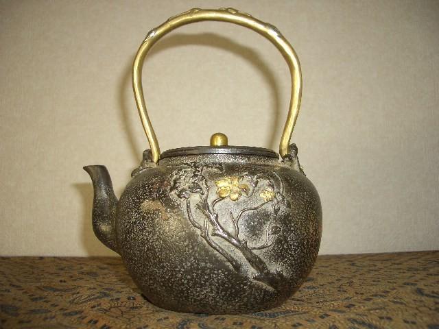 鉄製茶壺・鉄瓶(65)_画像1