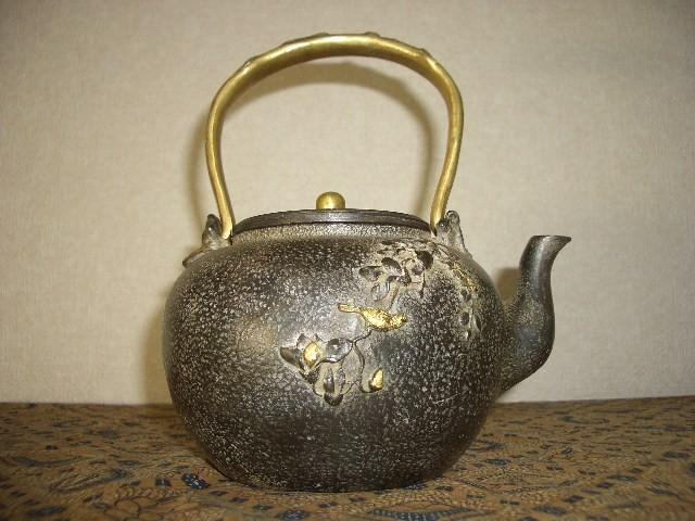鉄製茶壺・鉄瓶(65)_画像2