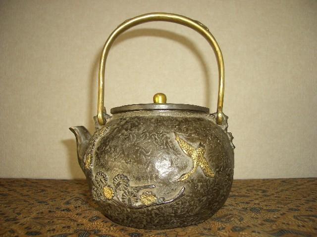 鉄製茶壺・鉄瓶(45)_画像1