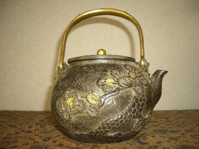 鉄製茶壺・鉄瓶(45)_画像2