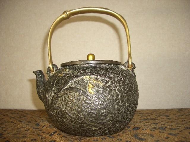 鉄製茶壺・鉄瓶(35)_画像1