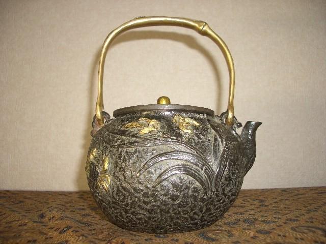 鉄製茶壺・鉄瓶(35)_画像2