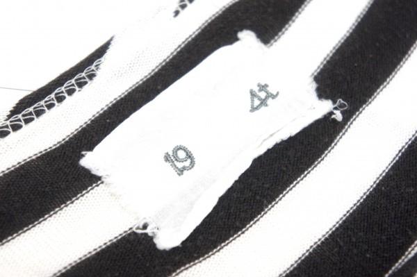 着心地抜群のロンT◆19 4t◆長袖カットソー ロンT ボーダー コットン Sサイズ オールシーズン ヘビロテ デニムと好相性_画像8