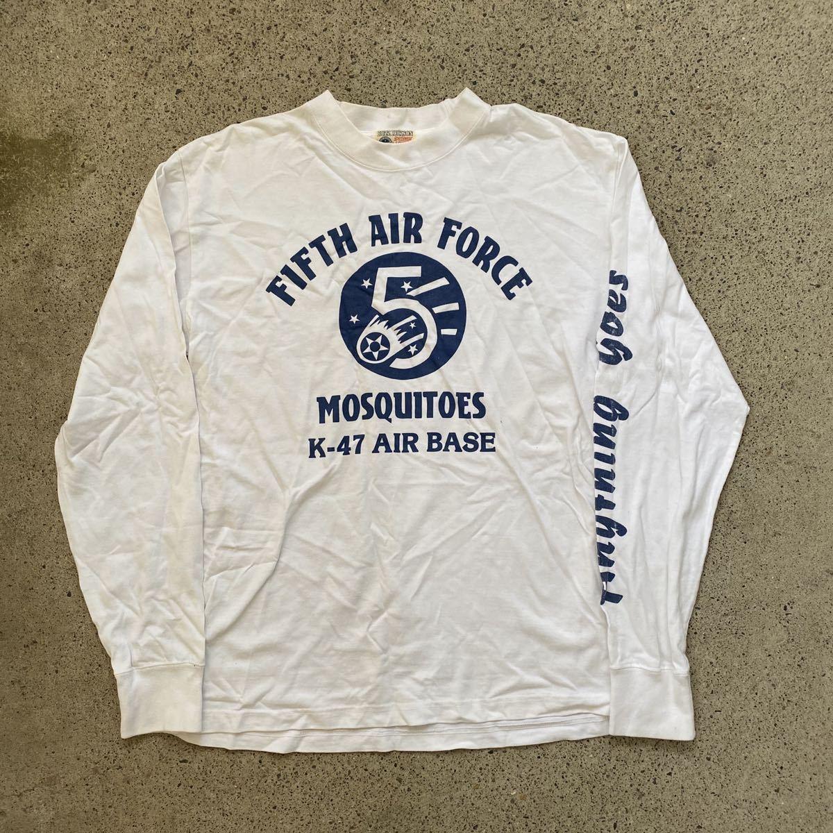 BUZZ RICKSONS 長袖 Tシャツ M バズリクソンズ AIR FORCE ロンT_画像1