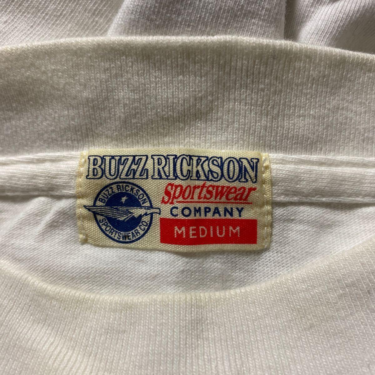 BUZZ RICKSONS 長袖 Tシャツ M バズリクソンズ AIR FORCE ロンT_画像4