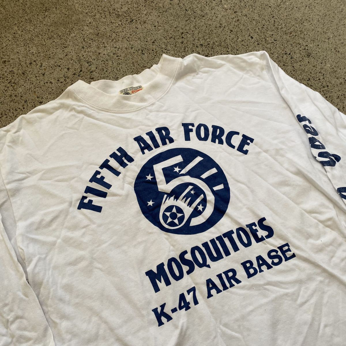 BUZZ RICKSONS 長袖 Tシャツ M バズリクソンズ AIR FORCE ロンT_画像3