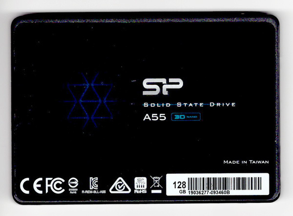 シリコンパワー SSD 128GB A55シリーズ SP128GBSS3A55S25