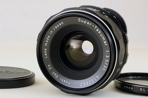【完動良品!】 Asahi Pentax Super-Takumar 35mm F3.5 M42 823 旭光学 アサヒ ペンタックス スーパータクマー 後期型 スクリューマウント_画像1