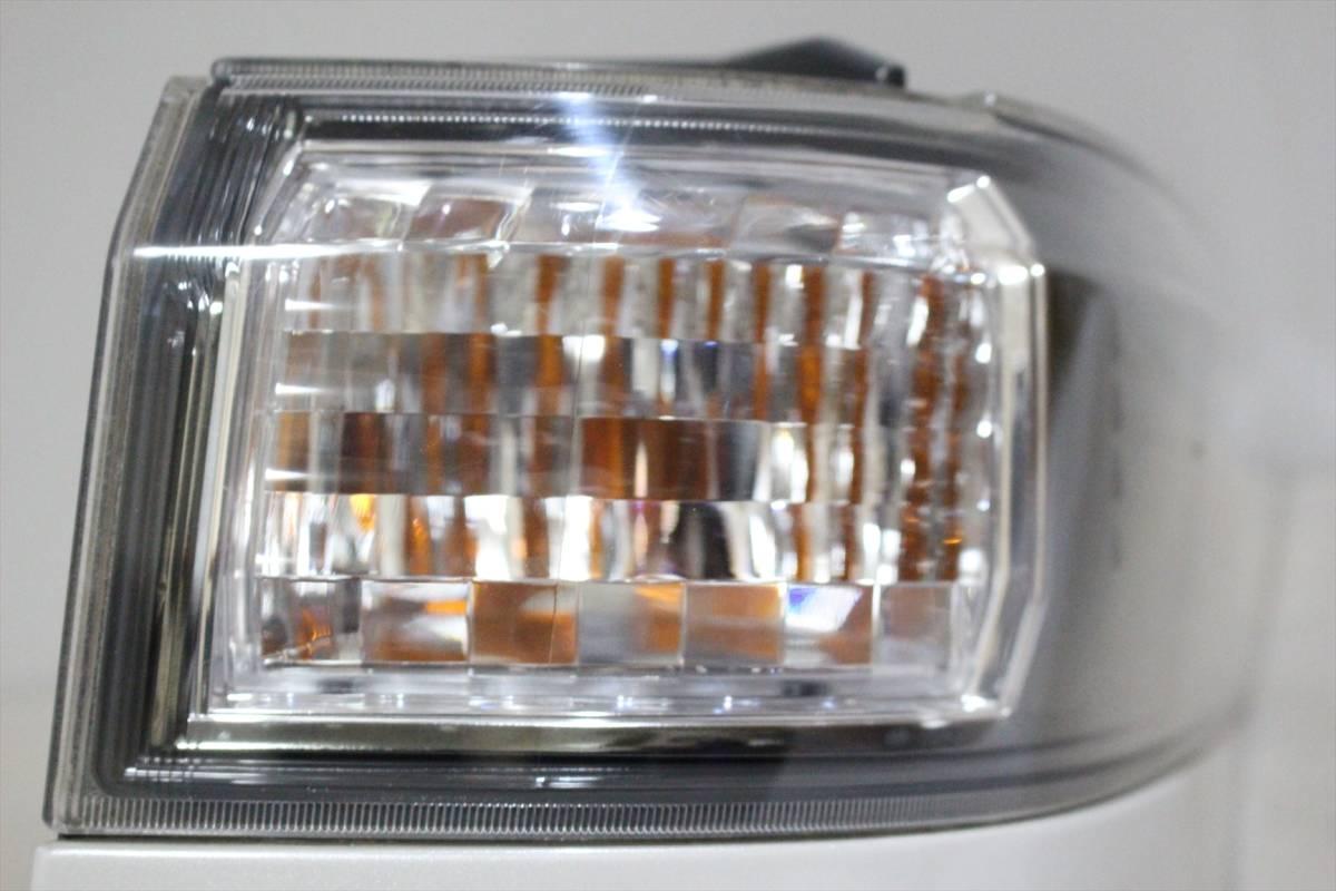 美品/LED点灯OK ANH20 20 ヴェルファイア 純正 右 テール ランプ/ライト/レンズ コーナー/外側 KOITO 58-29 パールホワイト/070 前期/後期_画像7