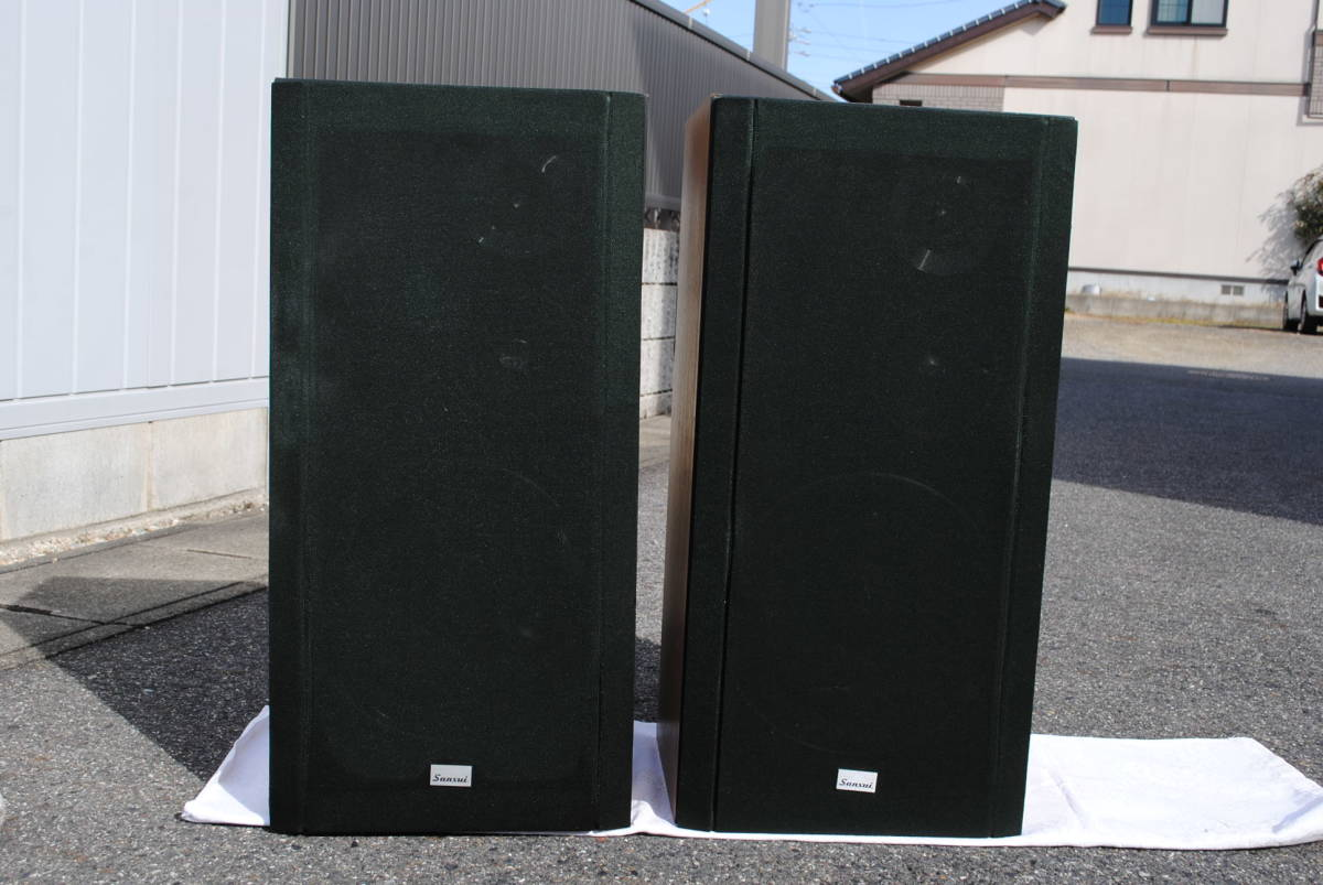 Showa of the machine name Sansui SANSUI 3-way speakers left and right set SP3300 670x330x285 mm