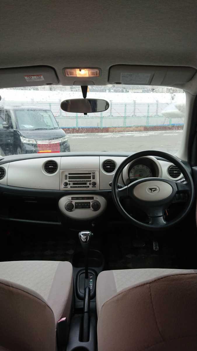 低走行!ミラジーノ X ダイハツ L650S 軽自動車 低走行 クーパー_画像8