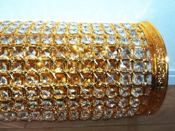 1円からLED電球ナイアガラ80cmゴールドシャンデリアキング観光サロンバス室内灯デコトラルームランプ金華山ライト男の城トラック内装_画像6