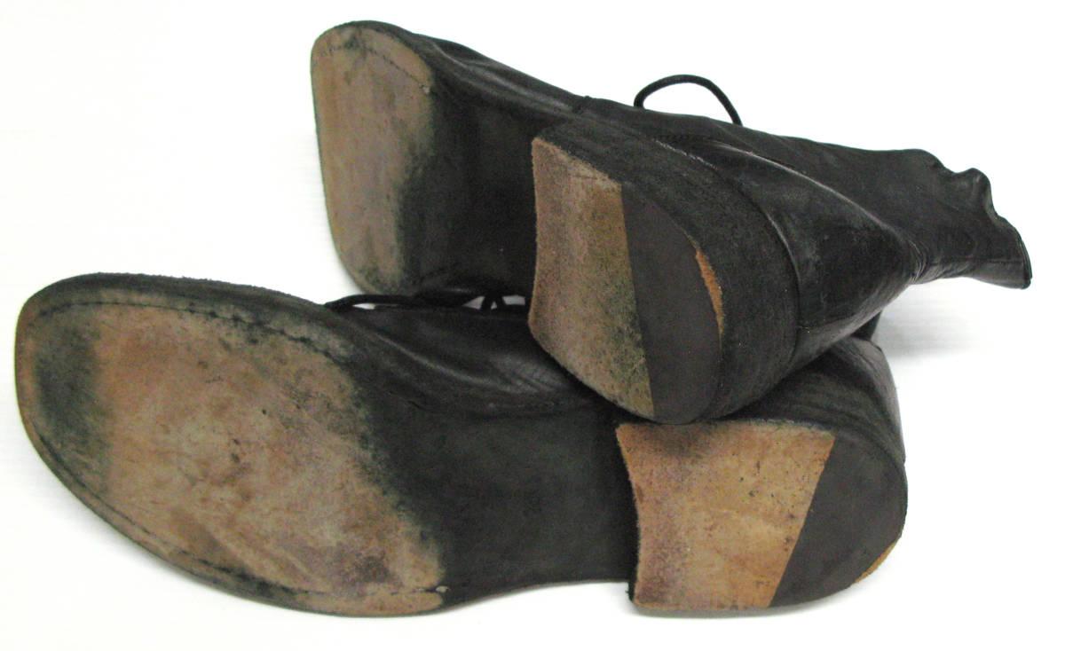 ワイズ フォーメン:レザー ブーツ ( 靴 革靴 本革 シューズ ショートブーツ Yohji Yamamoto leather boots shoes_画像4