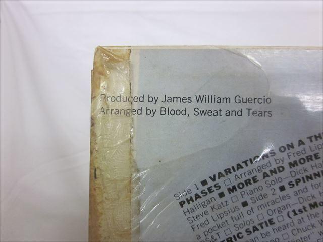 [200210021] BLOOD,SWEAT&TEARS Stereo RIAA SONP50082 CBS SONY ソニーレコード株式会社 LP盤 レコード 【中古】_画像8