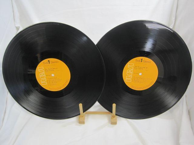 [200228055] エルヴィス・プレスリー 豪華盤 大全集 ハート・ブレーク・ホテル 本命はお前だ 他 LP レコード SRA-9062~63 【中古】_画像2