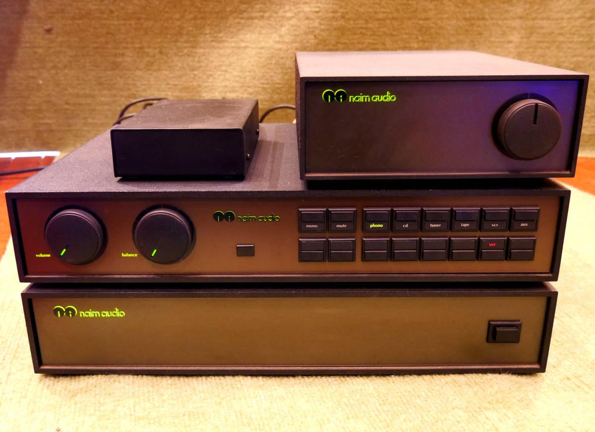 【激レア品】naim audio/イギリス製のヴィンテージオーディオセット/パワーアンプ/プリアンプ/NAP180,HI-CAP,NAC82/3点セット【送料無料!】