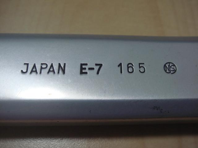 スギノ 75 ピスト クランク 競輪 NJS SUGINO_画像5