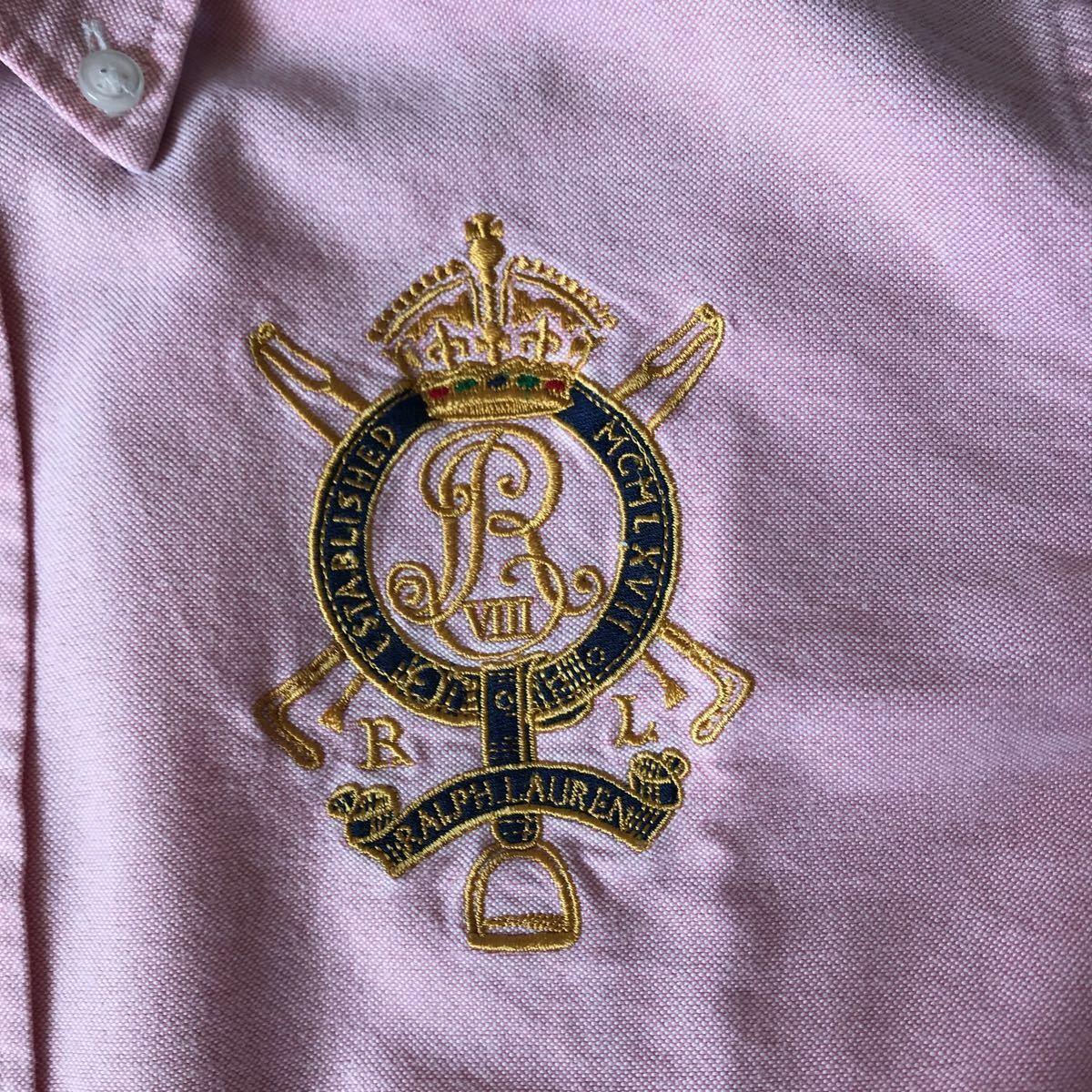 ラルフローレン オックスフォード 長袖シャツ ボタンダウンシャツ