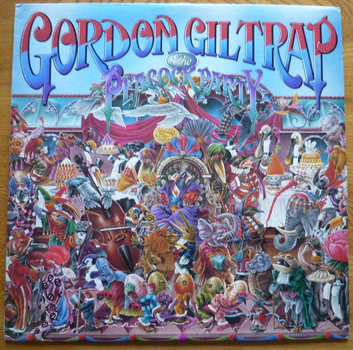 ■ 【UK盤LP/美品】 GORDON GILTRAP - THE PEACOCK PARTY