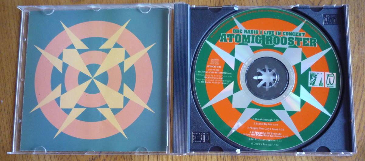 ■【美品CD】 ATOMIC ROOSTER - BBC RADIO 1 LIVE IN CONCERT