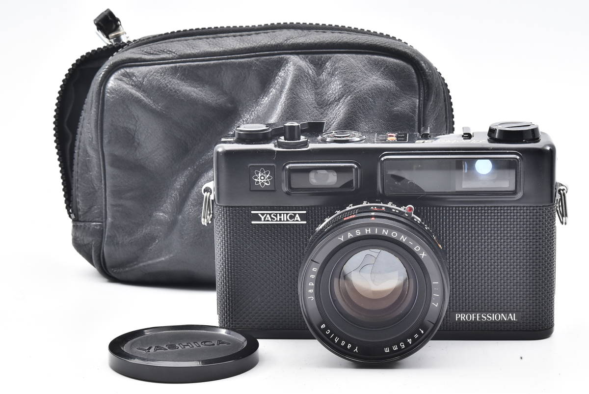 A2517 YASHICA ヤシカ PROFESSIONAL Electro 35 ケース付き