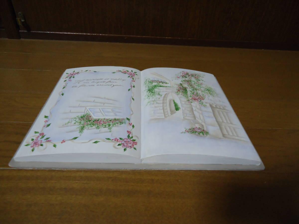 ♪作品整理♪トールペイント♪ブック型♪薔薇♪完成品♪_画像3