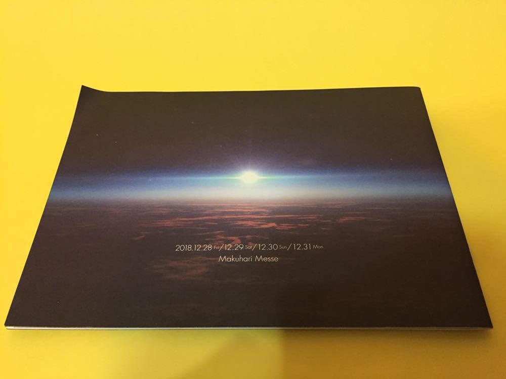 カウントダウンジャパン COUNT DOWN JAPAN 18-19 チケット早期購入特典 パンフレット ステッカー