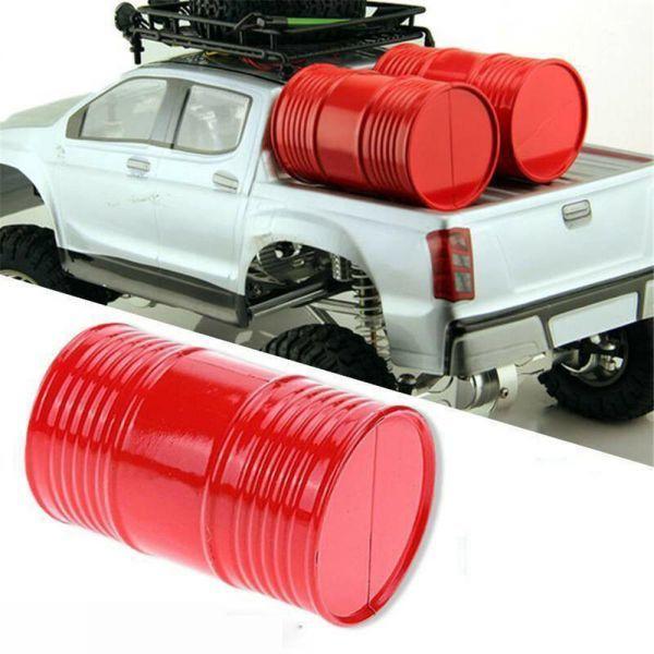 1/10 CC01 SCX10タミヤRC4WDロッククローラーRCカーパーツ用1PCオイル/ガスドラムタンクコンテナ S201584675_画像1