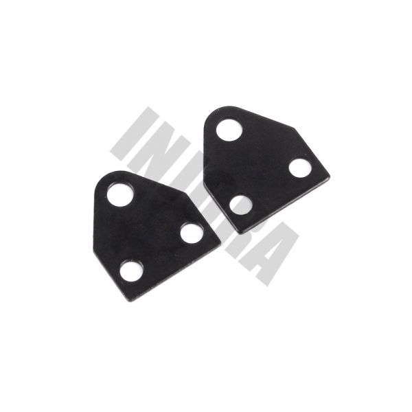 インジョラ1:10 RCロッククローラーD90 TF2アキシャルSCX10 F350用ハードリーフスプリングサスペンション S2032817337062_画像6