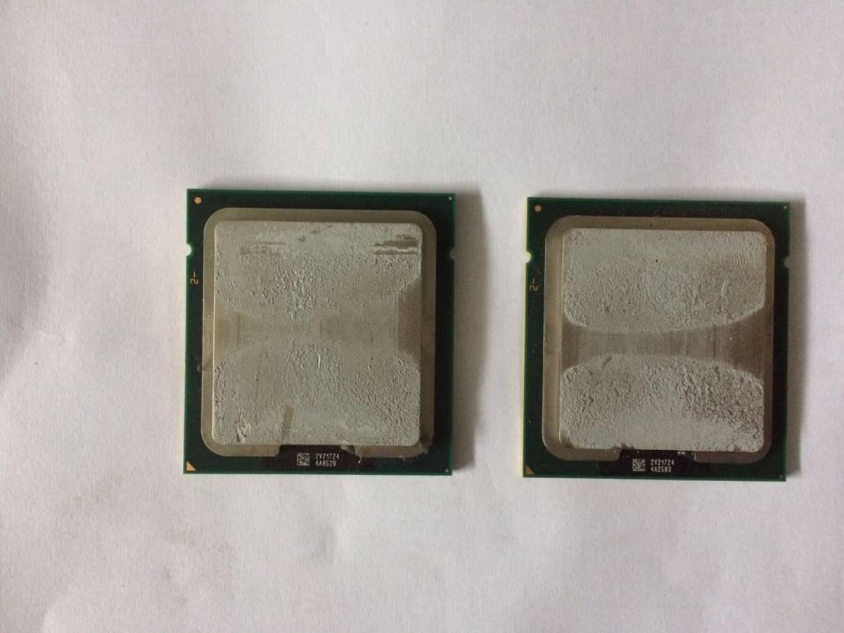Intel Xeon E5-2403 2枚セット 動作確認ずみ01_画像1