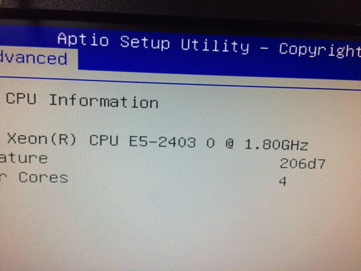 Intel Xeon E5-2403 2枚セット 動作確認ずみ01_画像3