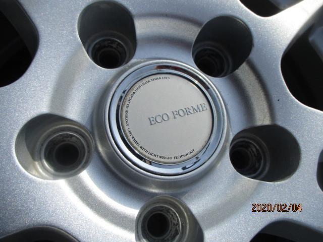 BS ホイール ECO FORME  195/65R15 playz px-RV バリ4本セット品(G873N2)_画像5
