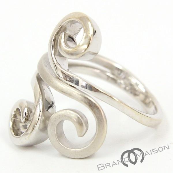 【ライマ】デザインリング/750WG/16号/RAIMA/指輪/レディース/アクセサリー/ホワイトゴールド_画像1