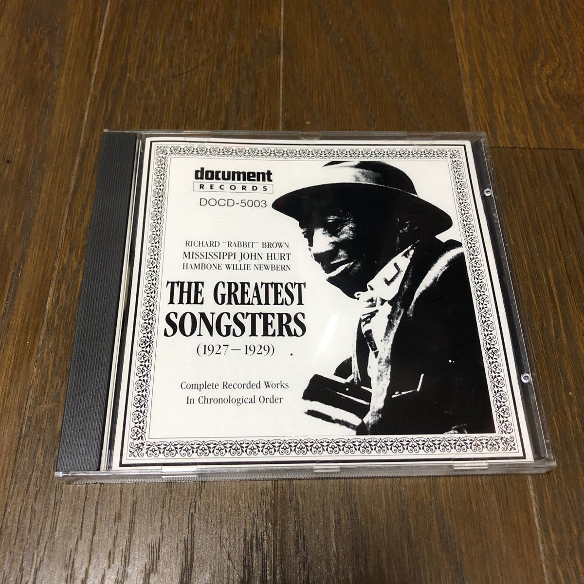 Various The Greatest Songsters 1927 - 1929 EU盤CD