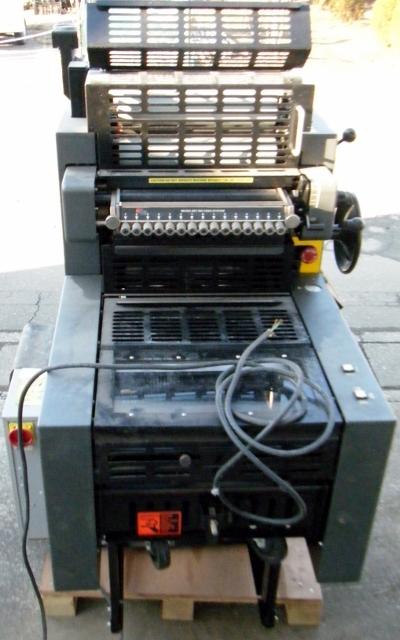AB DICK ABディック オフセット印刷機 QP25_画像5