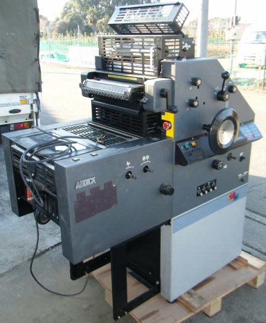 AB DICK ABディック オフセット印刷機 QP25_画像6