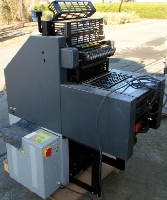 AB DICK ABディック オフセット印刷機 QP25_画像4