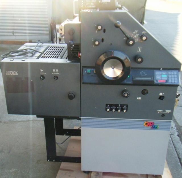 AB DICK ABディック オフセット印刷機 QP25_画像1