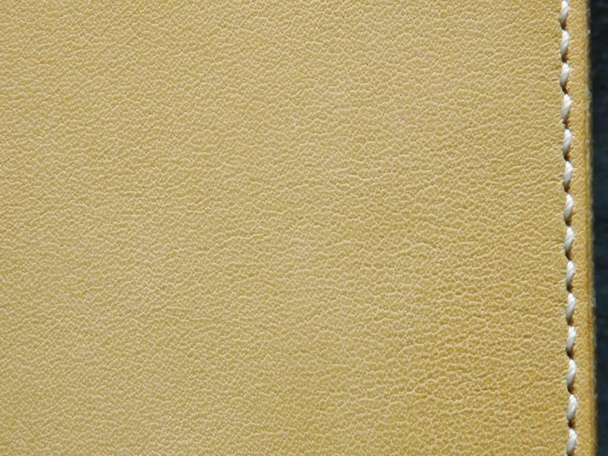 ウォレット サドルレザー ロングウォレット 革財布 長財布 万能の目 真鍮 手縫い レザークラフト エイトポイントスター 新品未使用 即決_画像3
