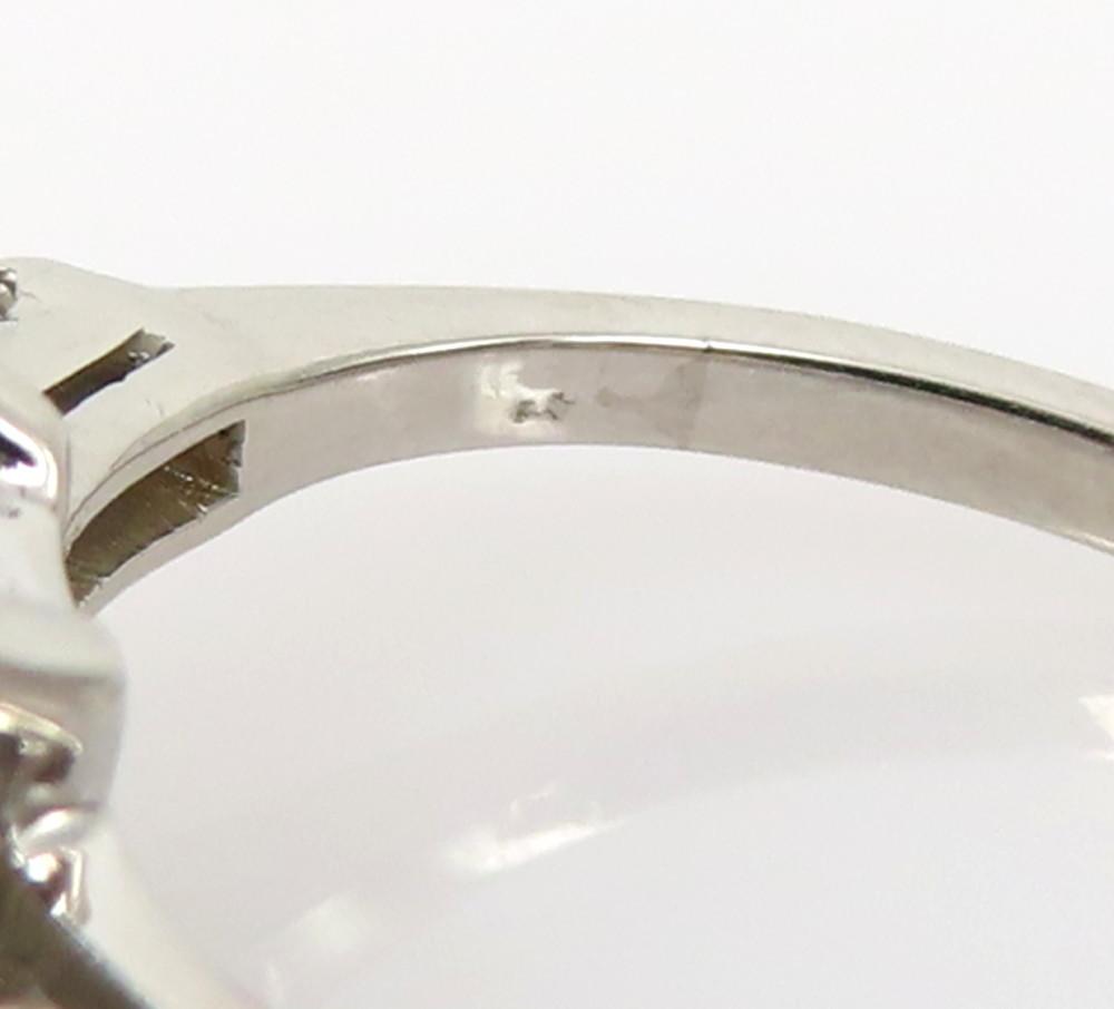 ◆GIA鑑定書付◆豪華◆《3.77ct ステップカット ダイヤモンド》【プラチナ】《婚約 指輪 エンゲージメント リング》_画像8