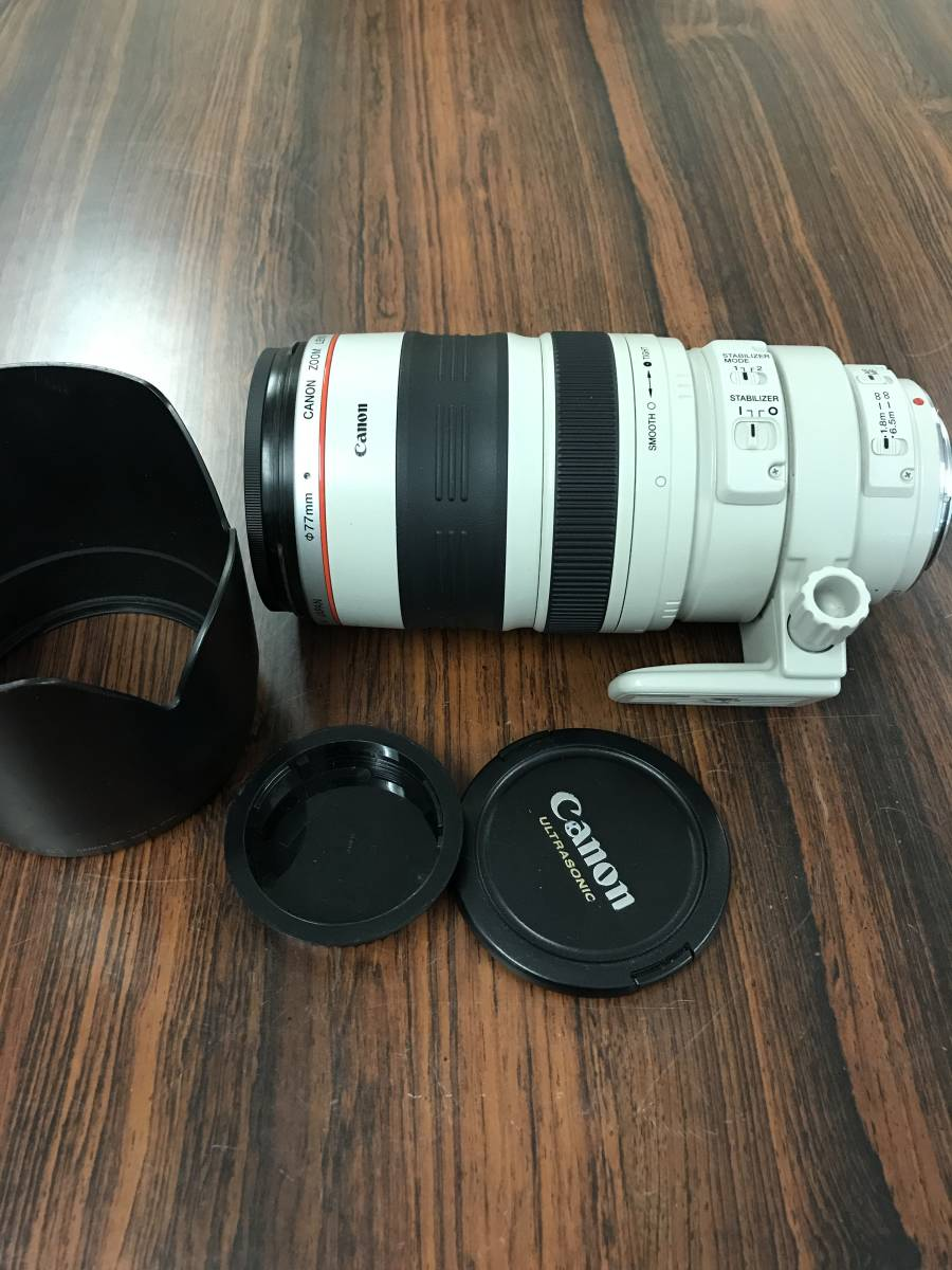 CANON ZOOM LENS EF 100 - 400mm 1:4.5 - 5.6 L IS