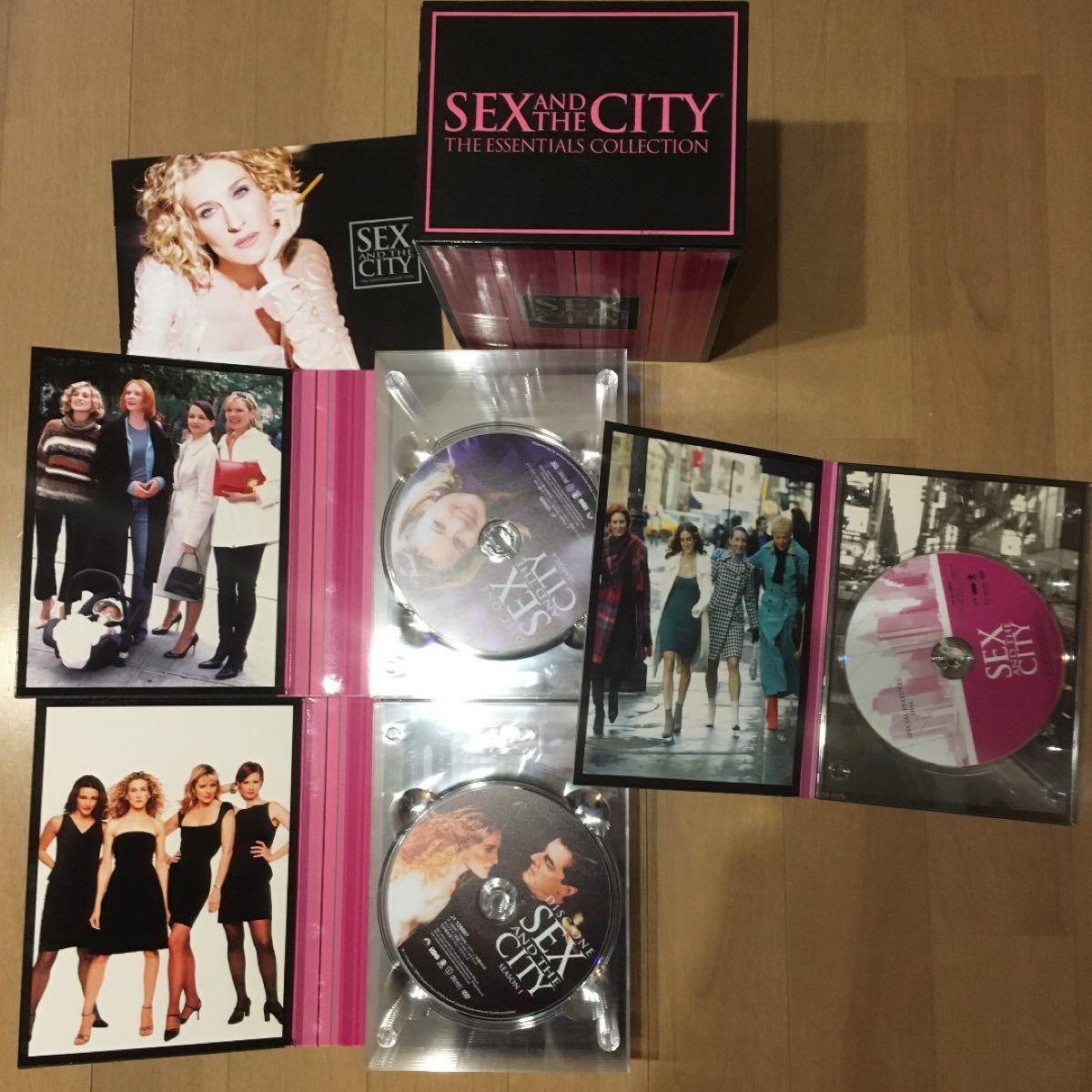 SEX AND THE CITY コレクションBOX&ガイドブック2冊 セット