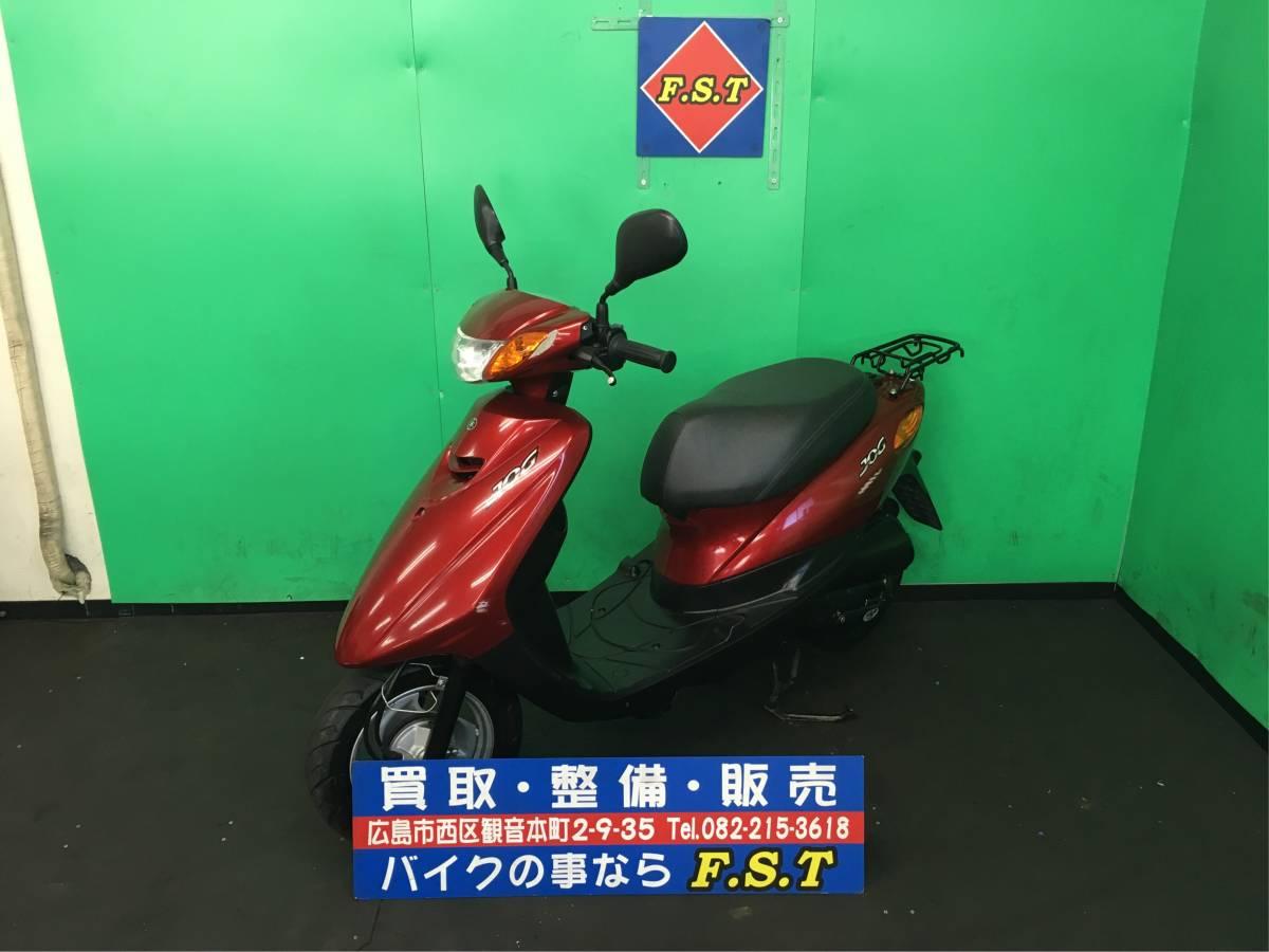 「YAMAHA JOG SA55J 赤 セル一発 機関良好 人気車両 走行短い 広島より」の画像1